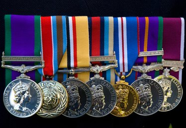How to Position Military Medals Properly in a Shadow Box