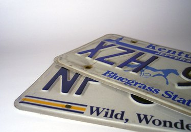 License Plate Projects