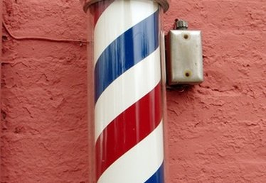 How to Make a Barber Pole Out of PVC
