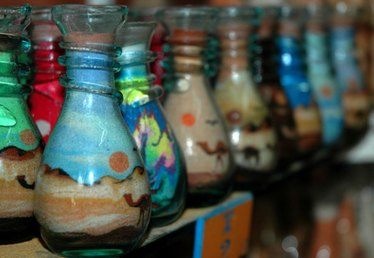 How to Make Colored Sand for Crafts