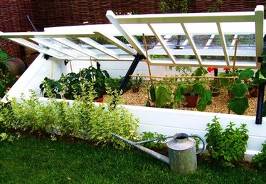 Cheap Way to Build Cold Frames