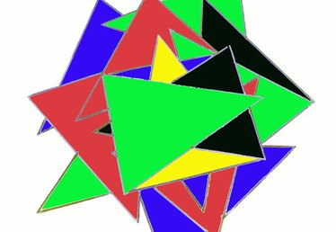 Triangle Art Projects for Toddlers
