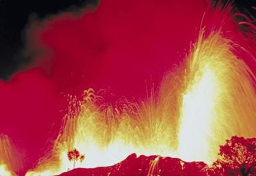 What Is an Example of a Famous Volcanic Eruption?