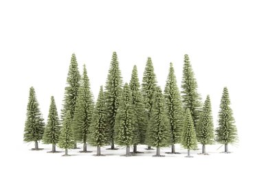 How to Make Fake Trees for Dioramas