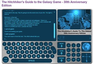 Relive the Glory Days of Text Adventures with Free Hitchhiker's Guide Anniversary Edition