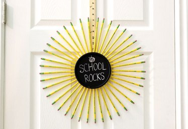 Make a Pencil Wreath With This Easy DIY