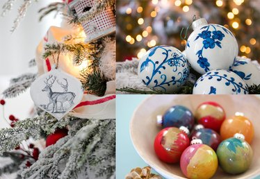 How to Make Homemade Christmas Tree Ornaments