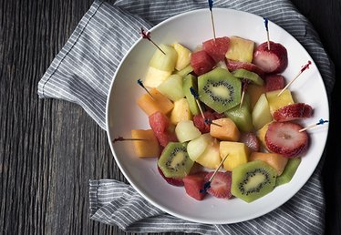Vodka Infused Fruit Salad Recipe