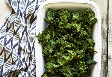 How to Bake Crispy, Salty Kale Chips