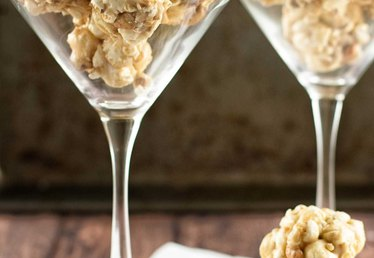 How to Make Nutty Caramel Mini Popcorn Balls