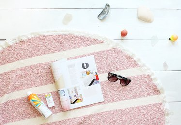 How to Make a Round Towel