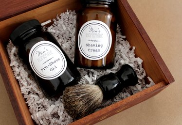 DIY Men's Shave Kit