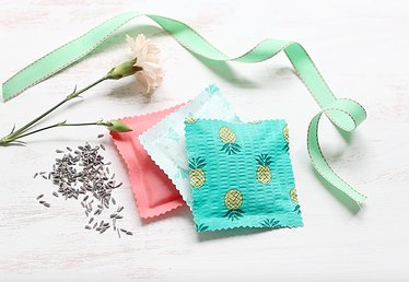 Easy to Make Fabric Sachets With Rice Tutorial