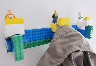 How to Make a LEGO Coat Hook