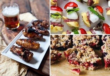 Easy Finger Food for Fourth of July Snacks