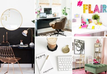 Instagram Ideas: 5 Ways to Decorate Your Home Office