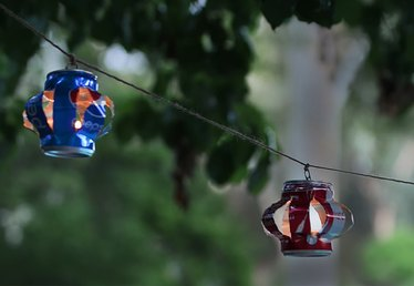 Upcycle Your Soda Cans Into These Charming Hanging Lanterns