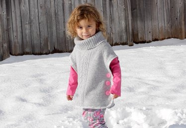 How to Make a Girl's Pullover Sweater from an Adult Sweater