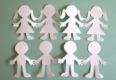 How to Make Paper People Cut Outs
