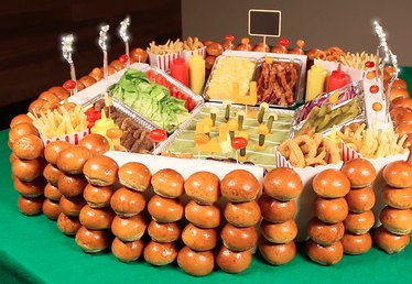 Build a Gourmet Snack Stadium for Your Super Bowl Party