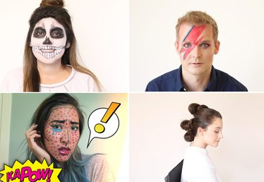 9 Beauty Tutorials for All of Your Halloween Parties