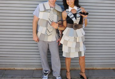 Funny 50 Shades of Grey Couple's Costume