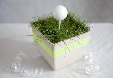 Golf Centerpiece Ideas