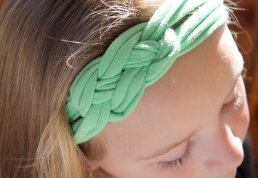 How to Make Headbands Out of Shirts