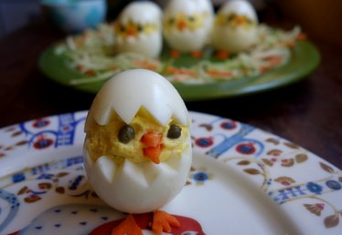 Easter Chicks Deviled Egg Recipe