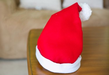 How to Make a Santa Hat
