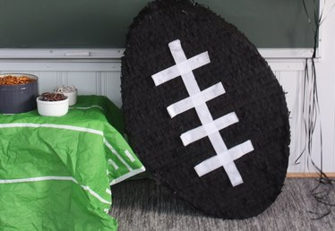 How to Make a Football Pinata