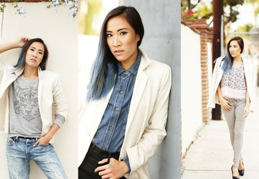 How to Wear a Blazer With Jeans