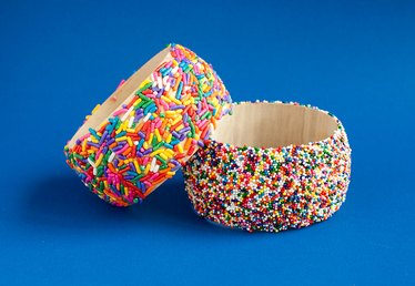 DIY Sprinkle Bangle Bracelet