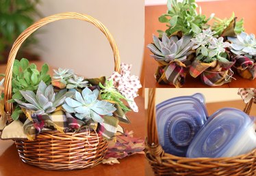 Clever 3-in-1 Thanksgiving Centerpiece Idea