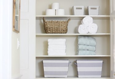How to Fold Towels to Save Room