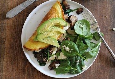 Omega-3 Vegetarian Omelet Recipe