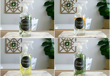 DIY Scented Vinegars for Cleaning Tutorial
