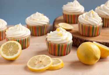 Homemade Lemonade Cupcakes Recipe
