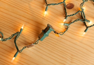 How to Remove the Connector Plug at the End of Christmas Lights