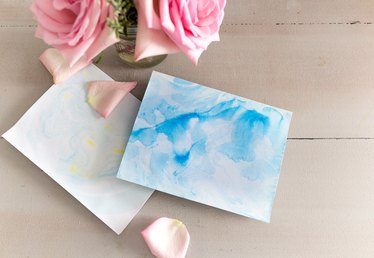 Make Your Own Marble Stationery With This Easy Process