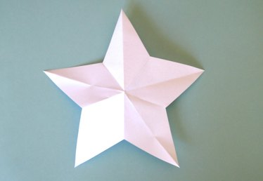 How to Cut Out a Paper Star