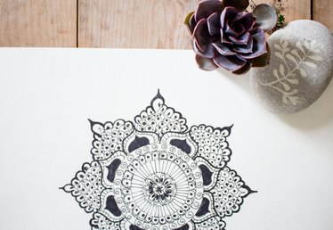 How to Draw Mandala Art