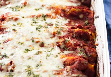 How to Make Eggplant and Summer Squash Enchiladas