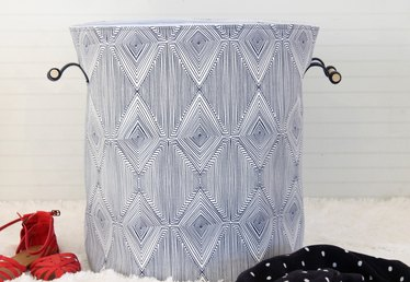 How to Make an Anthropologie-Inspired Laundry Hamper