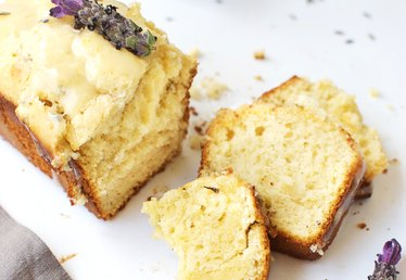 How to Make Lavender and Lemon Ice Cream Bread