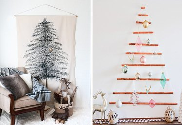 10 Alternative Christmas Tree Ideas