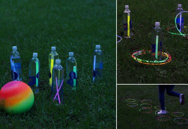 DIY Glow-in-the-Dark Games