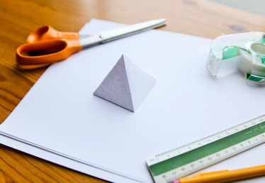 How to Make a 3D Pyramid