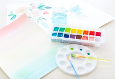 How to Make Scented Watercolor Paint