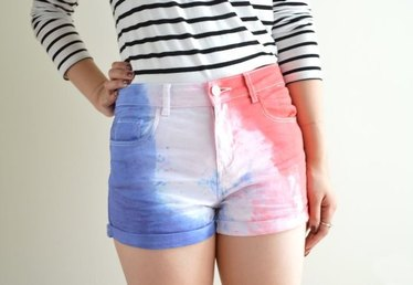 How to Make Red, White and Blue Shorts